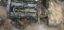 Peugeot 206 Engine stripping