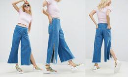 Szerokie spodnie dżinsowe Asos r.42
