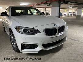 BMW 220i Coupe with M3 Sport Package