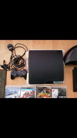 PS3 and driving set