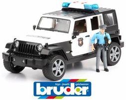 Bruder (Брудер) Джип Wrangler Police + коп 02526