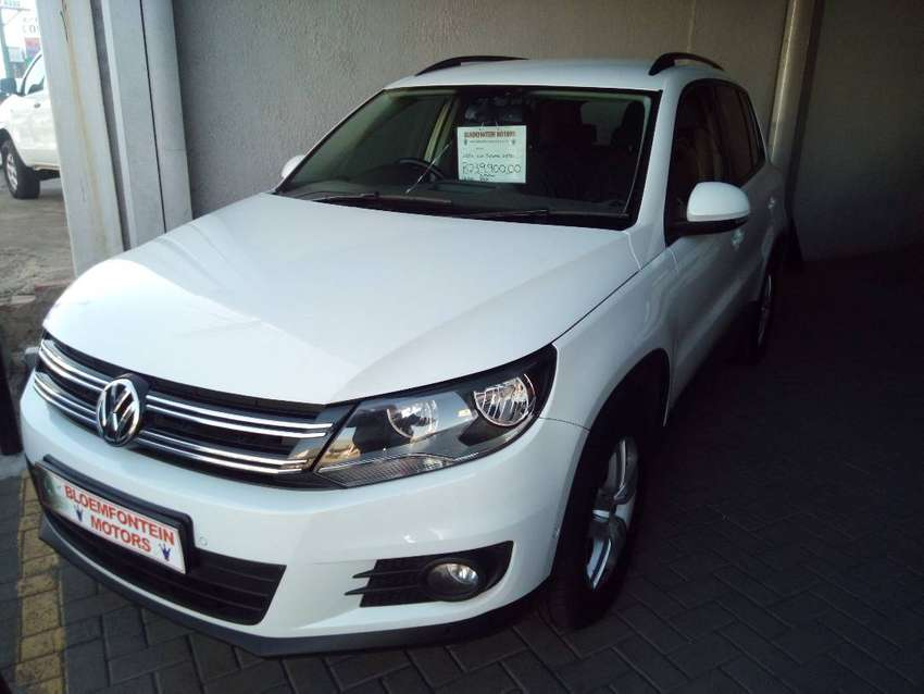 -2014 VW Tiguan 2.0TDI DSG 4Motion-Only R239900 0
