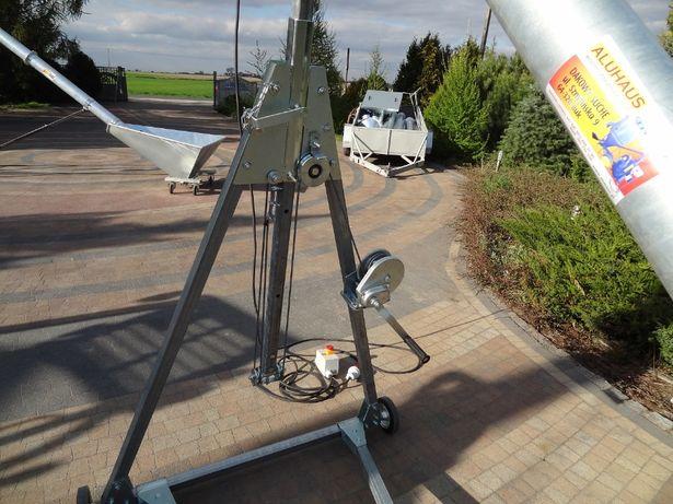 Przenośnik ślimakowy fi 110 OCYNKOWANY rura bezszwowa 4,4m Dakowy Suche - image 7