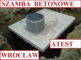 Szamba betonowe 10m3 i inne szambo zbiornik zbiorniki od 4 -12