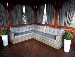 Gruba poduszka oparciowa pikowana meble z palet
