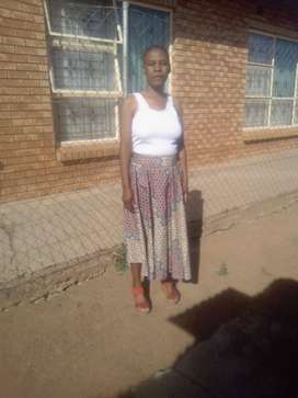 ACTIVE AND HARDWORKING LESOTHO MAID/NANNY NEEDS STAY IN WORK