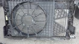 дифузор на радиатор шкода фабия 2011-2014год