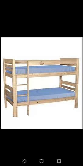 Bunk bed for sale with mattress
