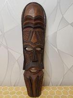 Продам африканскую маску из красного дерева.