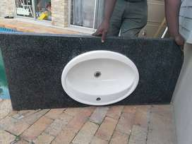 Granite countertop with basin for sale