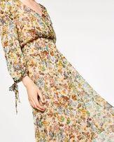 Muślinowa sukienka Zara