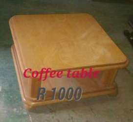 2 Oak Coffee tables foresale R1000 each