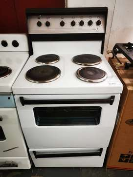 4 plate free standing stove