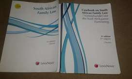 South African Family Law Casebook & Textbook  3e