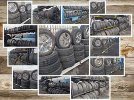 Original used mags, rims and tyres for sale