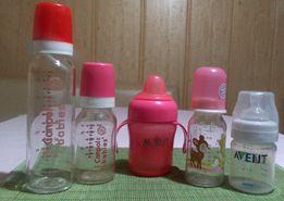 Бутылочки для кормления и поильник