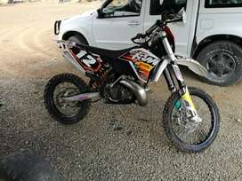 09 ktm xc-w 250 2stroke swop or sell