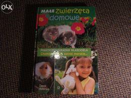 Nowa Książka Małe Zwierzęta Domowe Poradnik Właściciela Chomiki Świnki