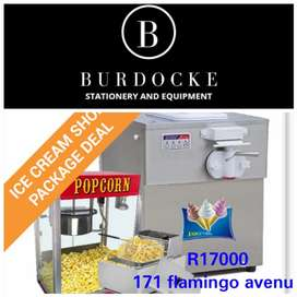 Brand new ice cream shop package deals