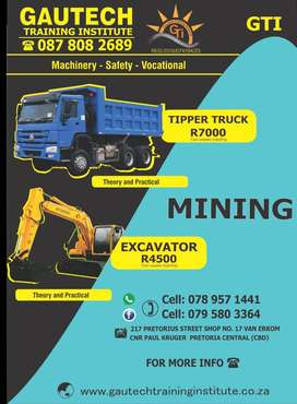 Tipper Truck Training school in Pretoria