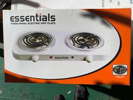 Electric Stove - 2 plate spiral hot plate