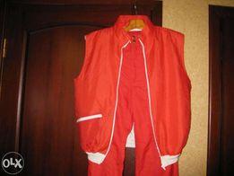 Продам яркий лыжный костюм с жилетом