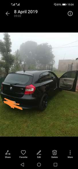 Bmw 1 series is in good condition