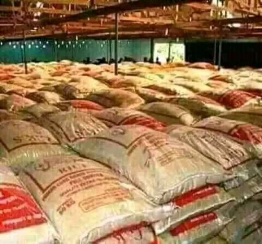 Bag of rice for sale at #10,500 for all product 0