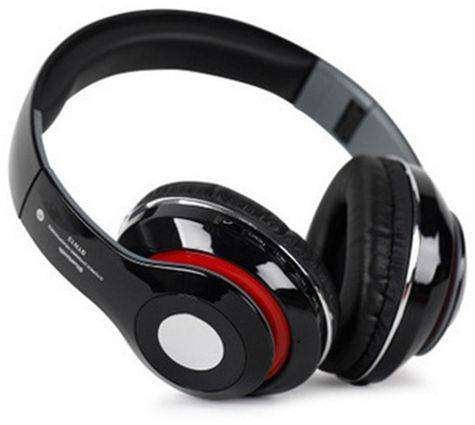 STN-13 Bluetooth Wireless Fold-able On-Ear Headphones w/Integrated Mic 0