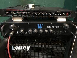 Продам бас голова Warwick PROFET 5.1 и Кабинеты ampeg mc-210e 2шт