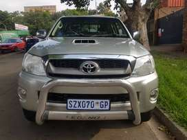 2006 Toyota Hilux 3.0 D4D 4x4 with leather seats