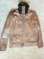 Мужская кожаная куртка maze, размер L