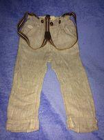 Новые Льняные штаны NEXT 12 -24