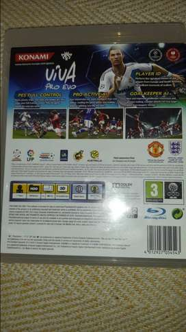 Fifa 12 and Pes 2013 for playstation 3