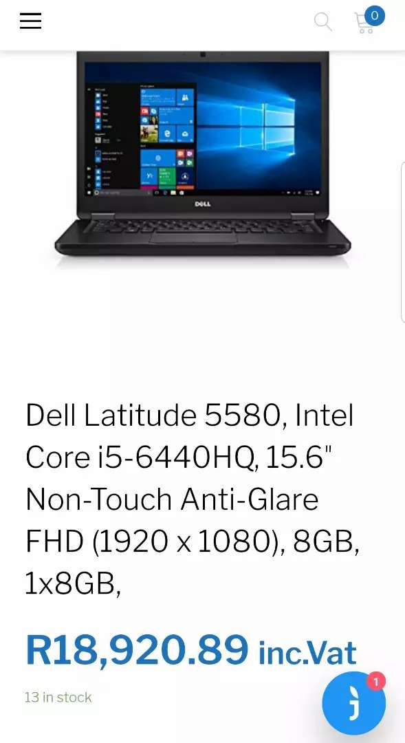NEW DELL LATITUDE 5580 INTEL CORE I5 HIGH SPEC QUADCORE GAMING MACHINE 0