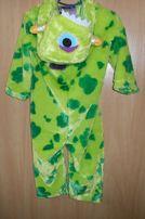 детский человечек карнавальный костюм комбез на 2-3 года кигуруми