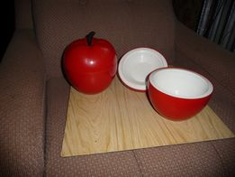 Контейнер-термос для льда Яблоко Яблуко 2 штуки СССР