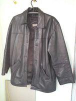 Солидная кожаная куртка.