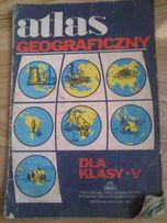 Stary atlas geograficzny PPWK Oddział Wrocław 1986 rok