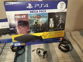 PS4 plus extra controller and games