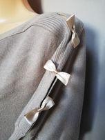 sweter nietoperz brązowy