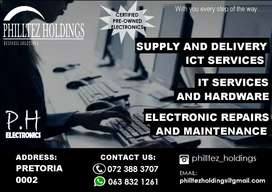 Supply and delivery of ICT products
