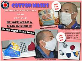 Masks Cotton and Washable
