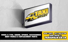 TOYOTA QUANTUM replacement parts, tyres, sound, rims, panels, lights,