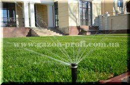 Автополив, автоматический полив, рулонный газон