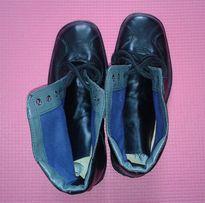 Ботинки кожаные демисезонные 38 р.