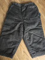 Fajne, ciepłe spodnie coccodrillo na podszewce bawełnianej r. 80