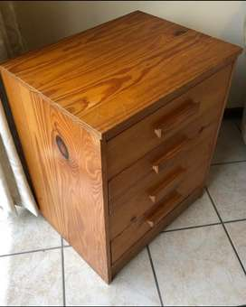 4 Drawer Pine chest (2 available)