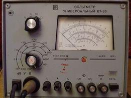 Вольтметр Универсальный В7-26 времён СССР