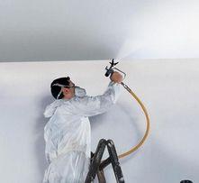 Покраска стен и потолков,побелка, декоративная штукатурка от 100м